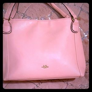 Authentic Pink Coach Handbag